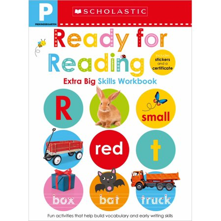 Pre-K Extra Big Skills Workbook: Ready for Reading (Scholastic Early