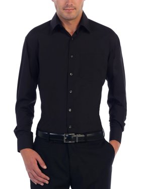 4bcd97401c1 Product Image Men's Long Sleeve Solid Dress Shirt