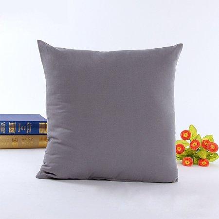 Wendana Living Room Throw Decorative Pillow Covers 40 X 40 Cotton Cool Plain Decorative Pillows