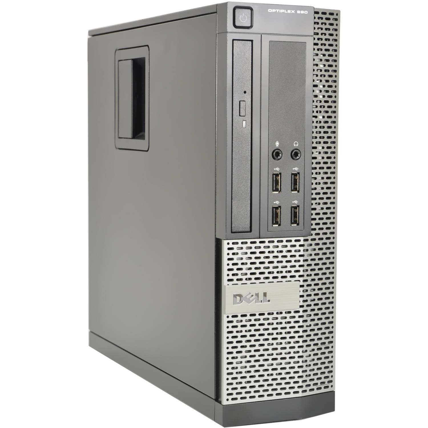 Refurbished Dell Optiplex 990-SFF WA1-0310 Desktop PC with Intel Core i5-2400 Processor, 4GB Memory, 250GB Hard Drive and Windows 10 Pro (Monitor Not Included)