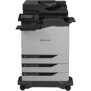 Lexmark CX820dtfe Laser Multifunction Printer - Color - Plain Paper Print