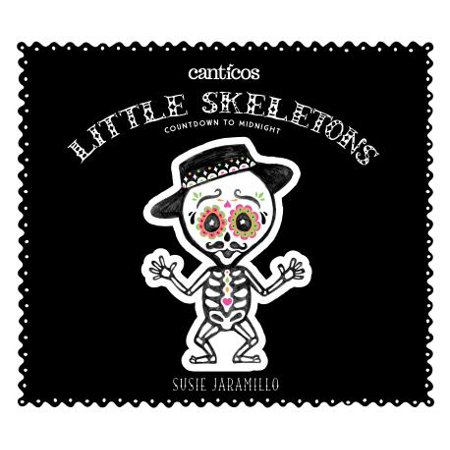 Little Skeletons / Esqueletitos: Countdown to Midnight (Board Book) (Nfl Countdown Halloween)