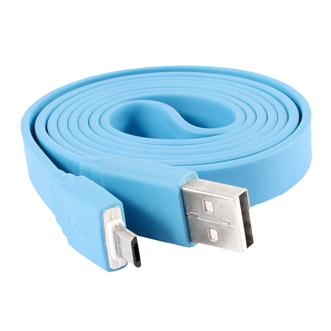 Unique Bargains 1M USB 2.0 to Micro USB Flat Data Charge ...