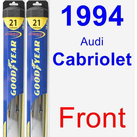 1994 Audi Cabriolet Brake - 1994 Audi Cabriolet Wiper Blade Set/Kit (Front) (2 Blades) - Hybrid
