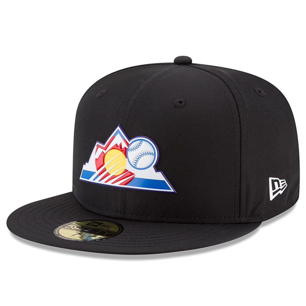 Colorado Rockies New Era 2018 On-Field Prolight Batting Practice 59FIFTY Fitted Hat - Black