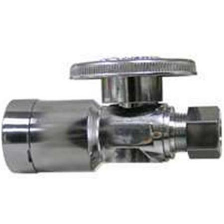 LFQC894S 0.25 Turn Supply Stop Chrome