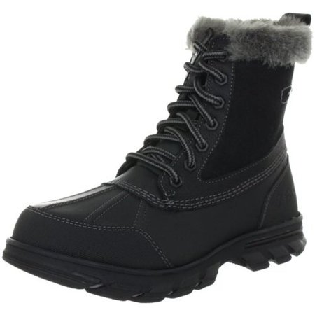 Womens Trail Mix-Heats Leather Water Resistant Snow Boots