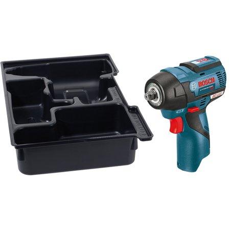 Bosch PS82BN 12-Volt 3/8-Inch MAX EC Brushless Impact Wrench with Insert Tray