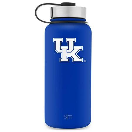 Simple Modern 32oz Summit Water Bottle - Kentucky Wildcats Vacuum Insulated 18/8 Stainless Steel Travel Mug - Kentucky