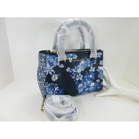 769ec8b0d Michael Kors Blue Purse With Flowers - Best Purse Image Ccdbb.Org
