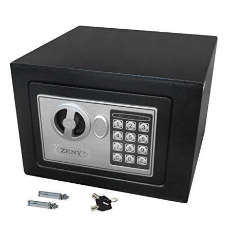 Zeny Electronic Digital Security Safe Box Keypad Lock for Gun Cash Jewelry Valuable Storage