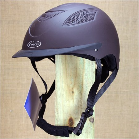 Browns Helmet (SMALL PARTRADE BROWN ULTRA LOW PROFILE CONTENDER RIDING)