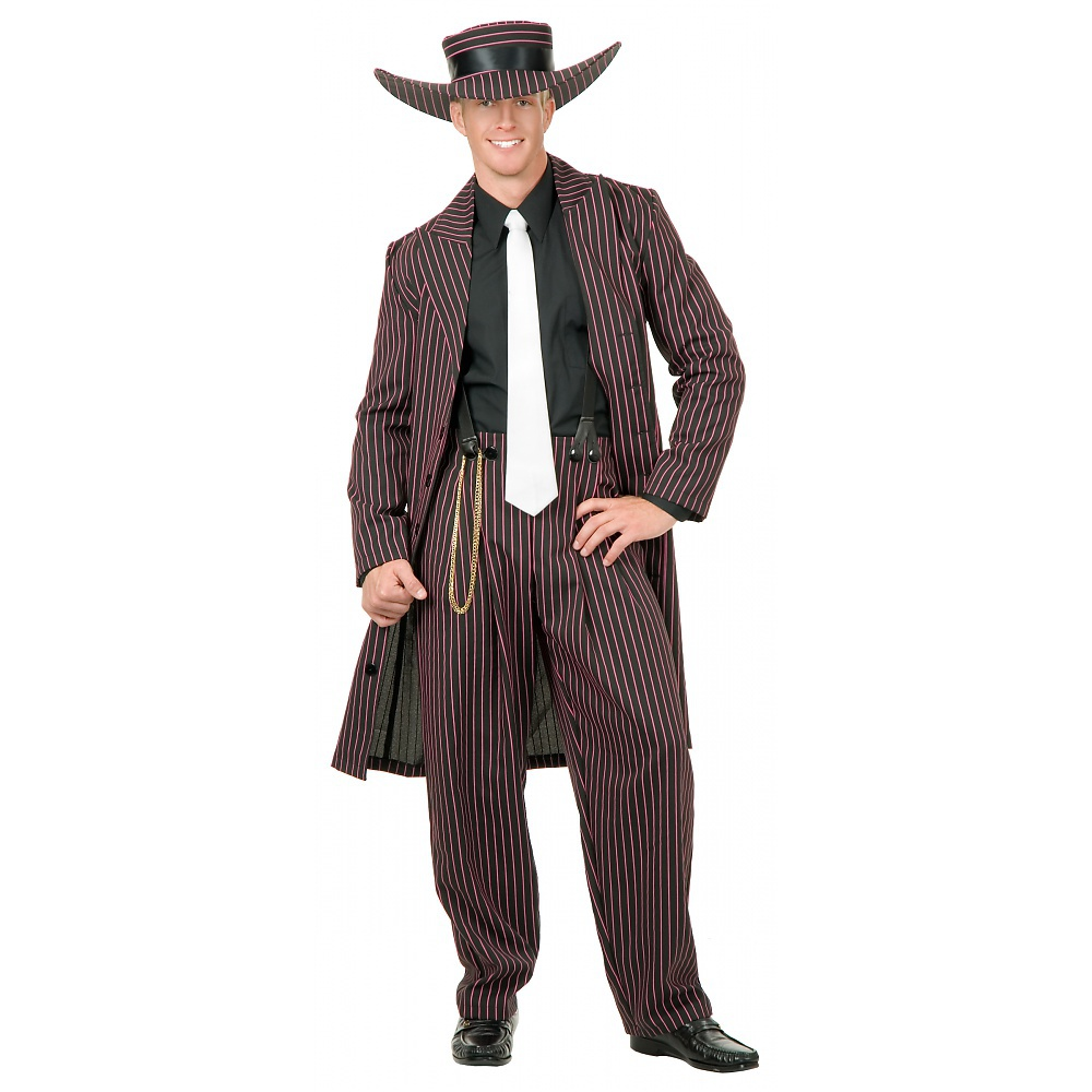 Zoot Suit Adult Costume Pink - Medium
