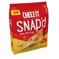 Cheez-It Snap'd Double Cheese Baked Cheese Snacks - 7.5 Oz Bag