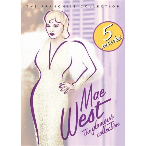 Mae West - The Glamour Collection: Night After Night / I'm No Angel / Goin' To Town / Go West Young Man / My Little Chickadee (Full Frame)