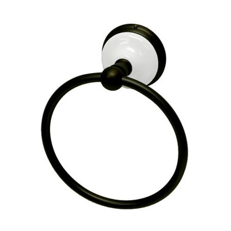 - Kingston Brass Victorian Wall Mounted Towel Ring