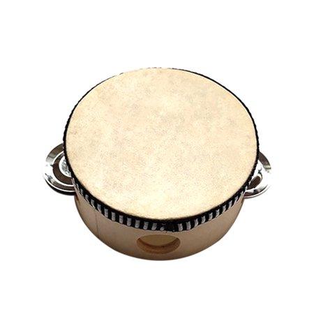 Cadeau de percussion rond tambour tambour musical pour KTV Party - image 4 de 5