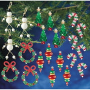 Holiday Beaded Ornament Kit Collection-New Traditional Makes 100