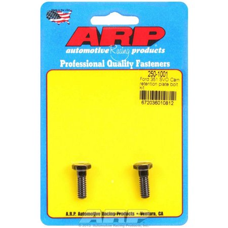 ARP Cam Retainer Bolt Kit 12 Point Black Oxide Small Block Ford P/N 250-1001