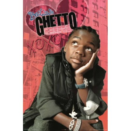 Lil Bow Wow Ghetto Girl Music Poster - - Wow Window Posters Halloween