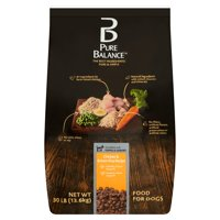 Pure Balance Chicken & Brown Rice Recipe Dry Dog Food, 30 lb