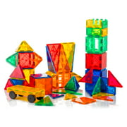 Tytan Magnetic Learning Tiles 100 Piece Building Set Focused on STEM Education W/ Included Car & Carrying Bag