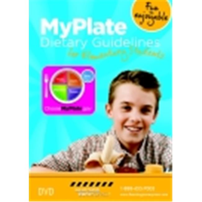 Learning Zonexpress Elementary Myplate Dietary Guidelines Dvd