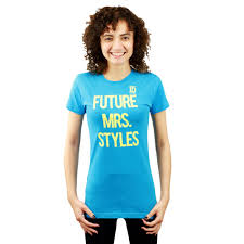 Future Mrs.  Styles Blue T-shirt NEW Sizes XS