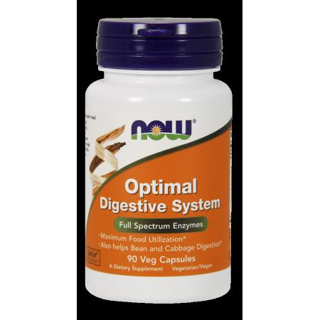 Foods Natural Enzymes - NOW Vegetarian Optimal Digestive System Full Spectrum Enzymes, 90 Ct