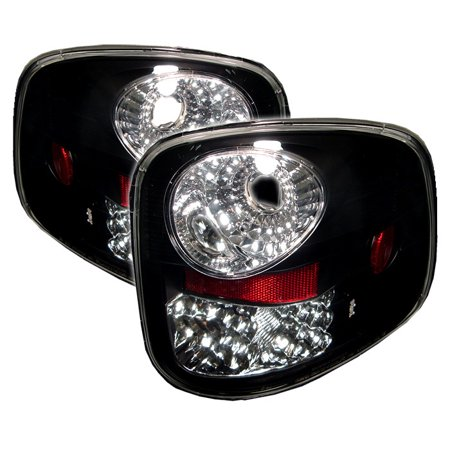 Spyder Ford F150 Flareside 97-03 LED Tail Lights - Black