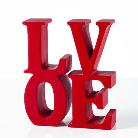 Torre & Tagus Word Art Resin Bookends - Love
