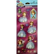 Disney Sofia the first Glitter stickers