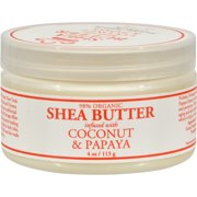 Nubian Heritage Shea Butter Infused With Coconut And Papaya - 4 oz