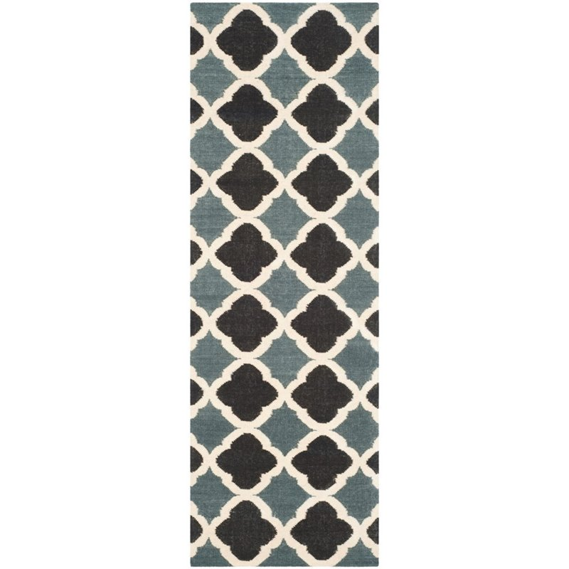 Safavieh Dhurries 4' X 6' Hand Woven Flat Weave Wool Rug - image 8 of 8