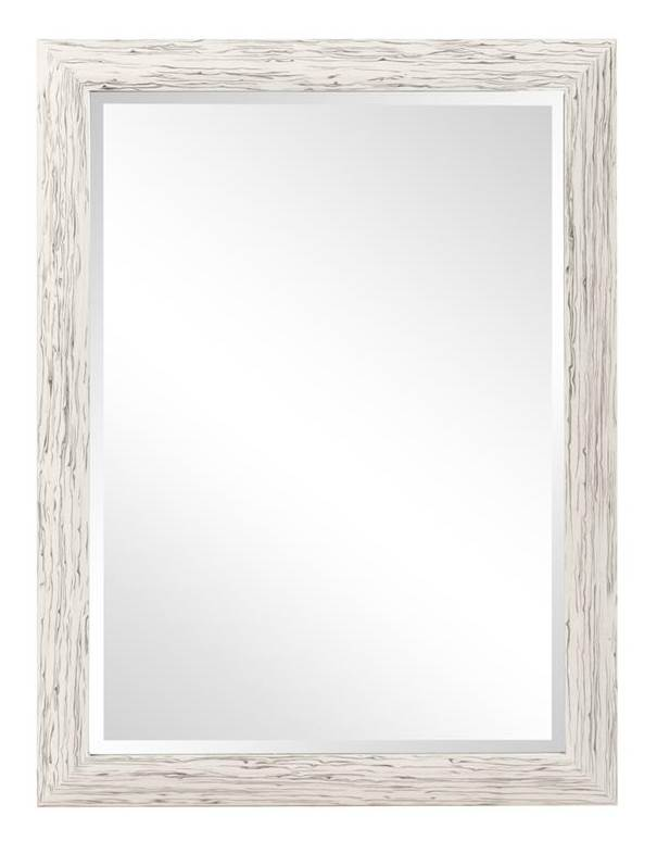 Rectangular Mirror in White Finish by Howard Elliott Collection