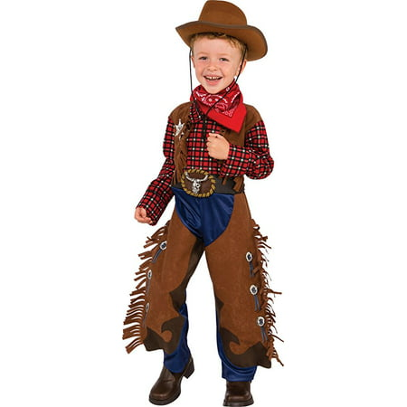 little wrangler boy wild west western cowboy halloween costume