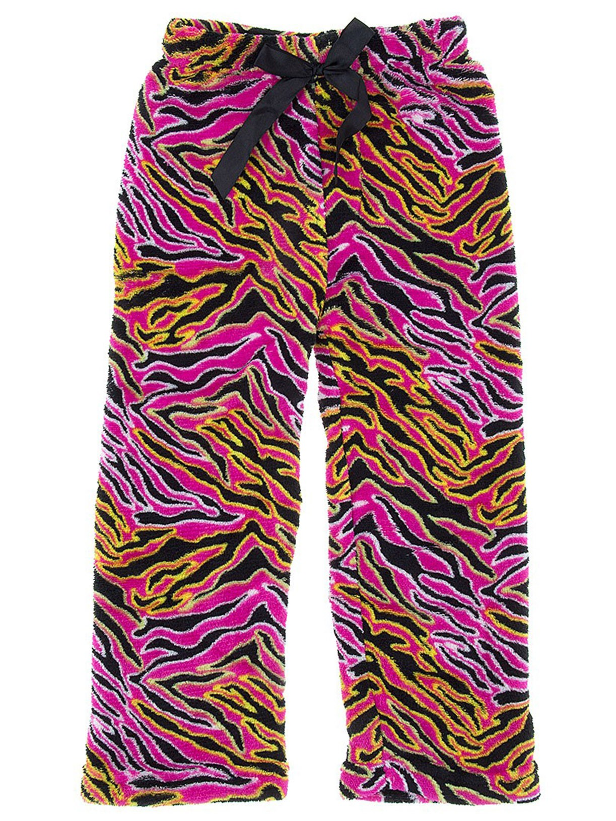 Sweet Sassy Girls Pink Zebra Fleece Pajama Pants