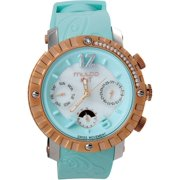 Mulco Unisex MW5-1622-413 Nuit Lace Chronograph Swiss Movement Watch