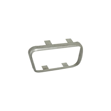 MACs Auto Parts Premier  Products 41-38975 Clutch Pedal Pad Trim Ring - Manual Transmission With Console - Comet