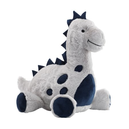 Lambs & Ivy Baby Dino Blue/Gray Plush Dinosaur Stuffed Animal Toy - Spike](Dinosaur Plush Toy)