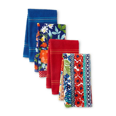 The Pioneer Woman Fiona Kitchen Towels, Set of 4