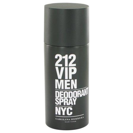 (pack 6) 212 Vip Cologne By Carolina Herrera Deodorant Spray5 oz - image 1 of 2