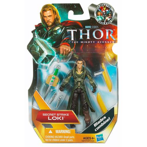 Thor The Mighty Avenger Loki Action Figure [Secret Strike]
