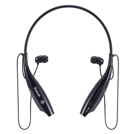 Handsfree Bluetooth Headset Wireless Sports Stereo Headphone Waterproof Earphones For iPhone Samsung White - image 1 of 8