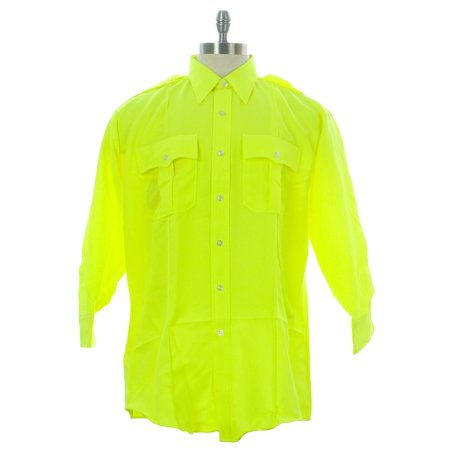 FLYING CROSS Men's Uniform Shirt Neon Green (Flying Monkeys Green T-shirt)