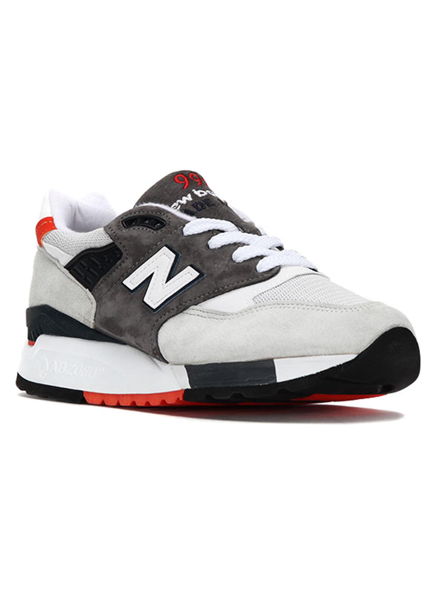 New Balance Men's 998 Explore By Air Sneakers M998CREA Grey Black Orange by