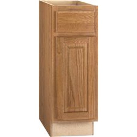 Rsi Home Products Hamilton Base Cabinet, Fully Assembled, Raised Panel, Oak, 12X34-1/2X24 In. - Oak Raised Panel