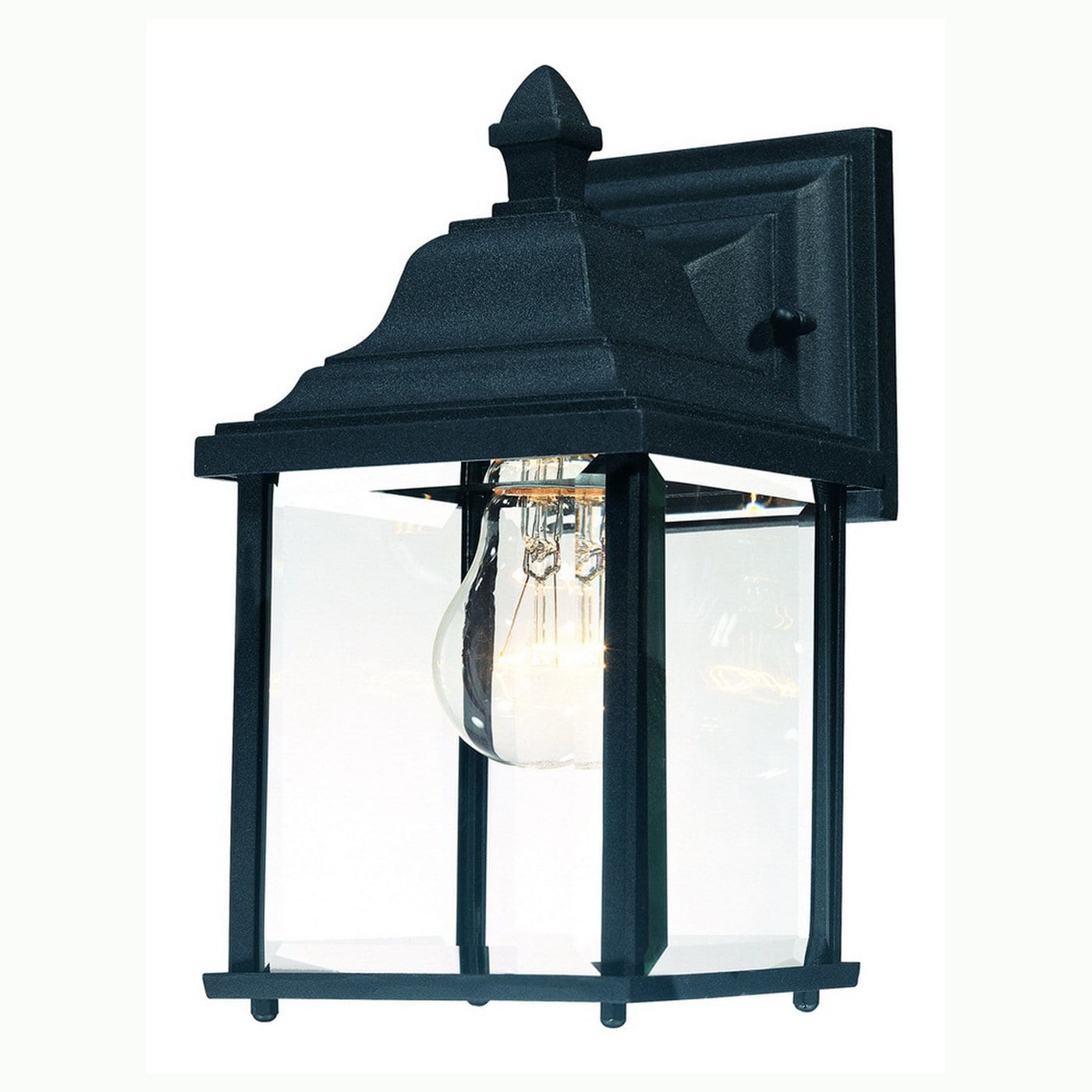 "Dolan Designs 931 Charleston 1-Light 10.5"" Height Outdoor Wall Sconce"