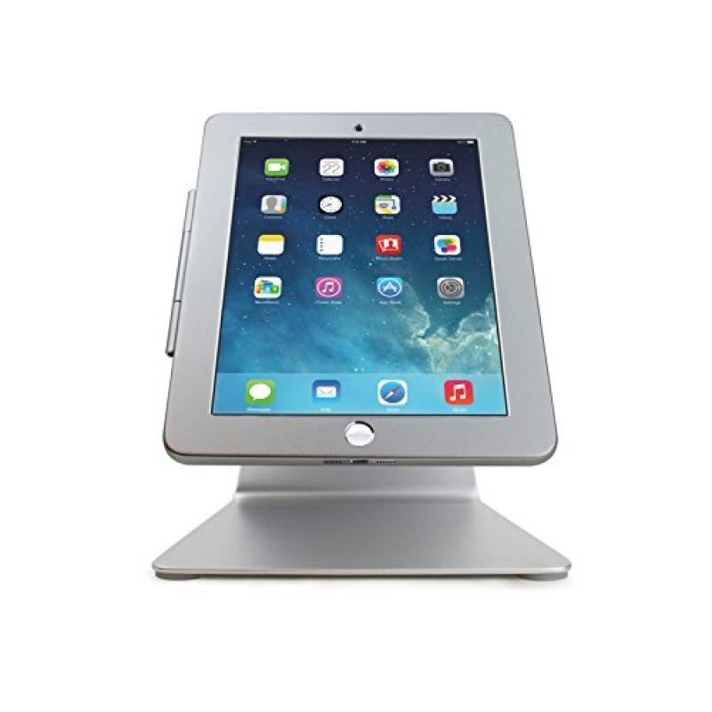iPad Desktop Anti-Theft POS Stand Holder Enclosure with L...