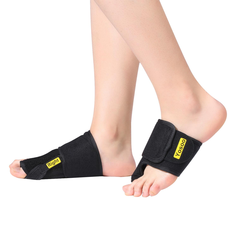 VGEBY 1 Pair Bunion Corrector Toe Separators Splint, Straightener Brace for Hallux Valgus Bunion Pain